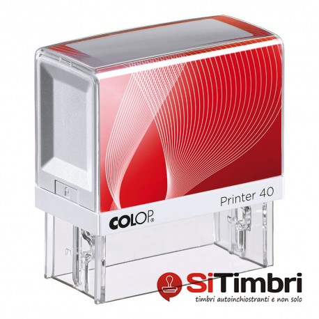 Colop Printer 40 - 23 x 59 mm.