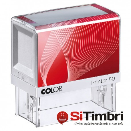 Colop Printer 50 - 30 x 69 mm.