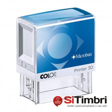 Microban Printer 30 - 18 x 47 mm.