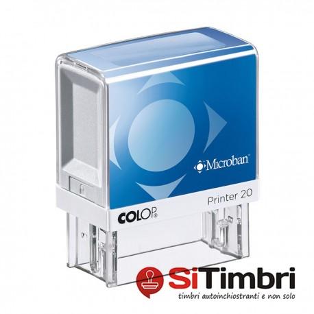 Microban Printer 20 - 14 x 38 mm.
