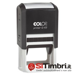 Printer Q43 - 43 x 43 mm.