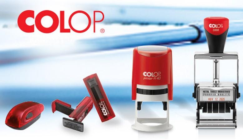 Gamma timbri autoinchiostranti COLOP