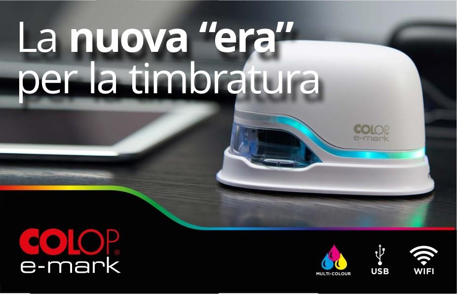 La nuova era della timbratura mobile, e-mark COLOP
